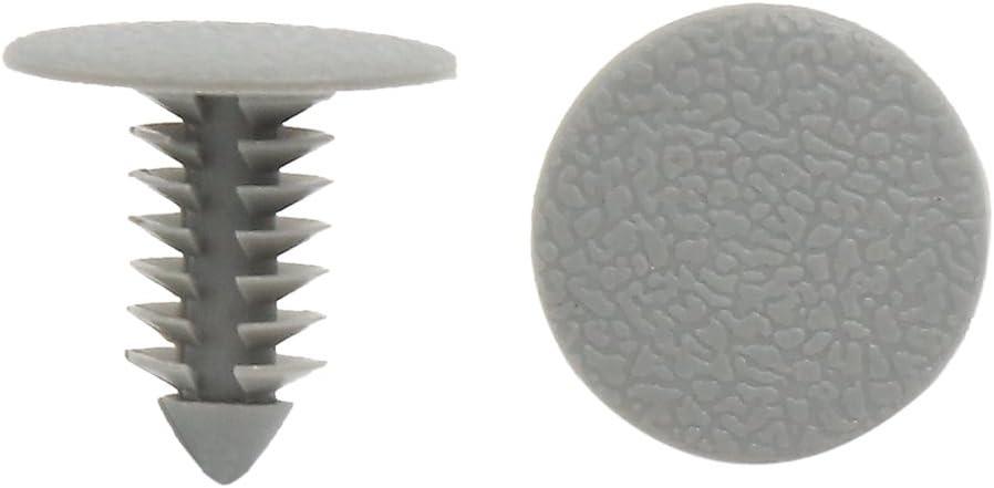 uxcell Plastic Rivet Car Door Defender Fastener Clip 8mm x 26mm x 30mm 100PCS