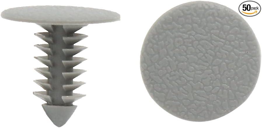 gris en plastique pare-chocs TRIM CLIPS Rivets ARCH Doublure Fits Mercedes 10x Haute v.l.q.p.r.d