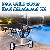 Ponwec 24PCS Pool Solar Cover Reel Attachment