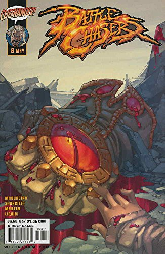 Battle Chasers #8 VG ; Image comic book