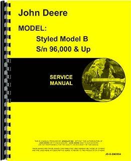 john deere shop manual series a b g h models d m editors of rh amazon com John Deere Tractor Repair Manual John Deere Service Manuals PDF