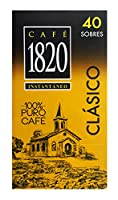 Cafe 1820 Instant Coffee - (40 Packets of 2gr)