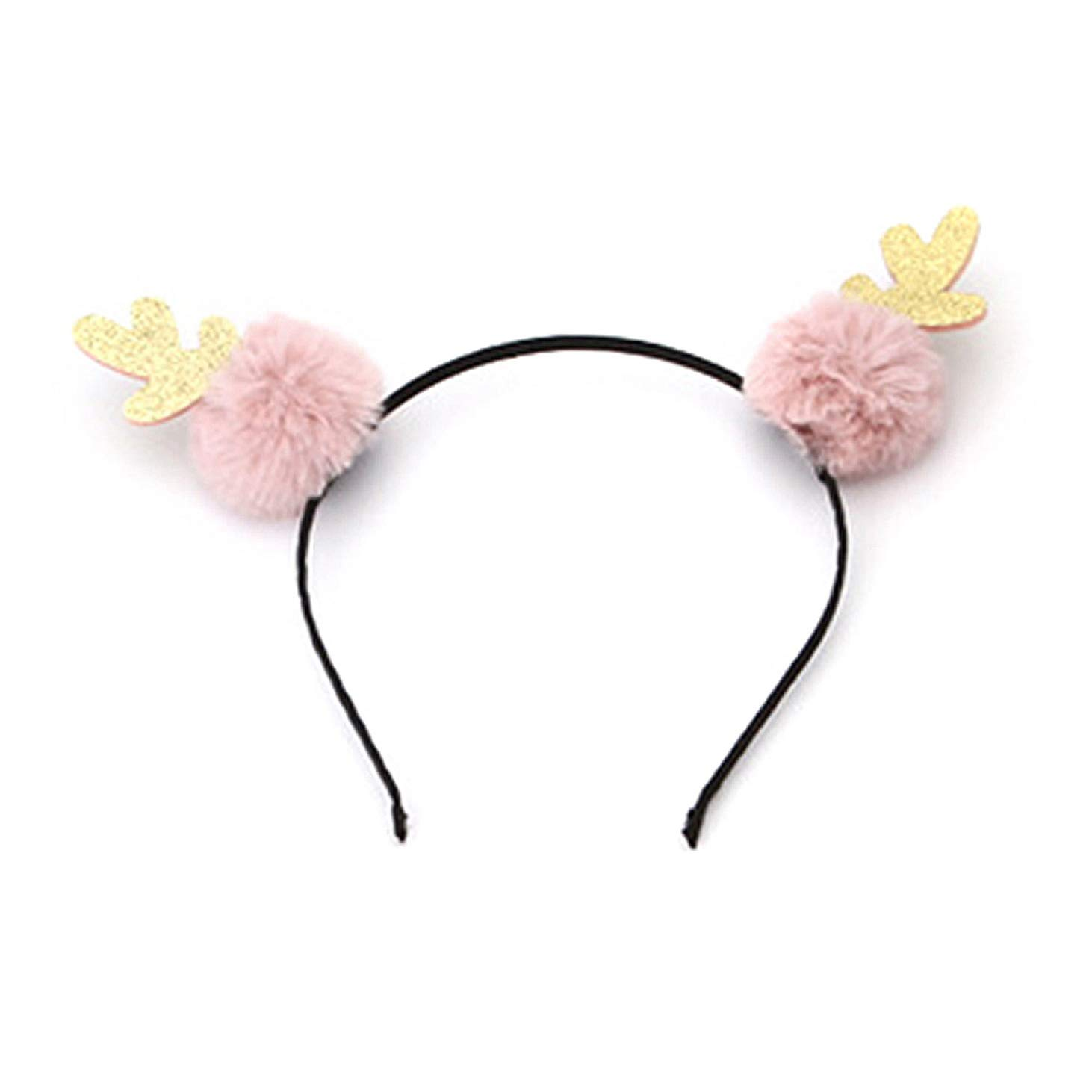 Cute Kids Girls Headdress Plush Cat Ear Hair Fashion Headwear Hair Accessories