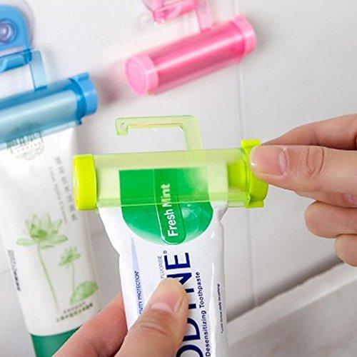 LARARHEE-Useful Bathroom Toiletries Wash Supplies Handy Plastic Toothpaste Squeezer Tool
