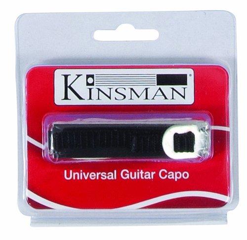 Kinsman KAC301 Capodastre pour Guitare Argent Accessoires/Capodastres