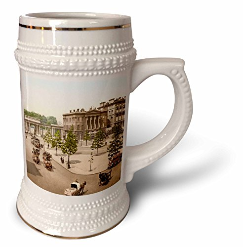 3dRose Russ Billington Designs- Old England Photographs - Hyde Park- London - 22oz Stein Mug (stn_255114_1) (Hyde Park Beer)