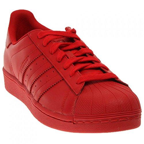 Adidas Mens Superstar Supercolor Rosso S41833 Rosso