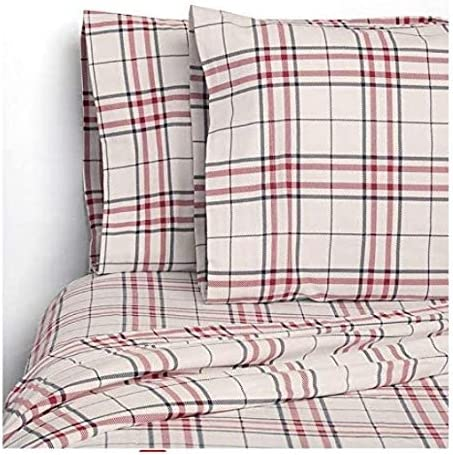 Wilderness Standard Size Family Time Fishing Flannel Cabin Lodge Pillowcases Campfires Canoe and Kayak