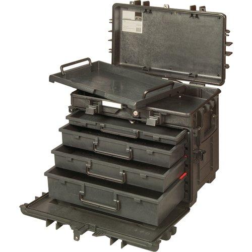 バーコ 4段式リジットキャスターケース 4750RCWD4 B01F1ZGBQU