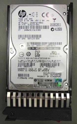 Hp 72gb 15k Sas Drive (HP 512743-001 72-GB/15K 2.5 SAS hard disk drive New Bulk)