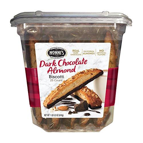 chocolate almond biscotti - 3