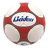 Baden Size 4 Low Bounce Futsal Game Ball, Red/White