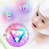 #8: Light-up Toys for Kids - 100 Waterproof Baby Bath Lightning Toy for Toddlers, LED Lights for Party, Bathtub, Swimming Pool - Toddler Girls Boys Toys Bath