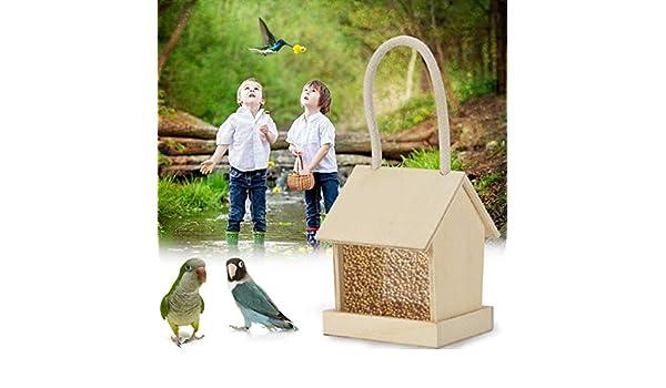 Comedero para pájaros, Comedero para pájaros Pavilion Park Novedad para jardín | Hermoso carrusel Arbor Pergola Estación de alimentación de Aves Silvestres para decoración de Jardines pájaro: Amazon.es: Deportes y aire libre