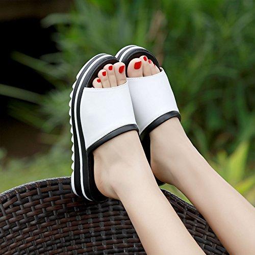 SCLOTHS Sommer Frauen Casual Flip Flops Flache Rutschfeste Äußeren Verschleiß Casual Frauen Hang Komfortable b6336a