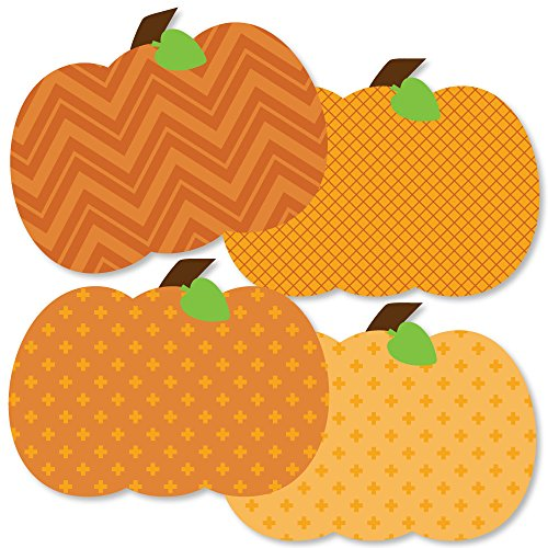 Pumpkin Patch - Pumpkin Decorations DIY Fall & Thanksgiving Party Essentials - Set of -