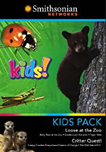 Smithosonian Networks: Kids Pack (Loose at the Zoo / Critter Quest) (Two-Disc Set)