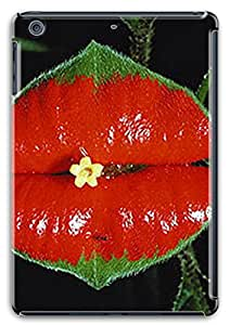 3D PC Case Cover for ipad mini retina Custom Hard Shell Skin for ipad mini retina With Nature Image- Hot lips Glass