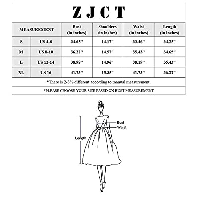 ZJCT Womens Long Sleeve Loose Dress Round Neck Pleated Swing Casual Dresses