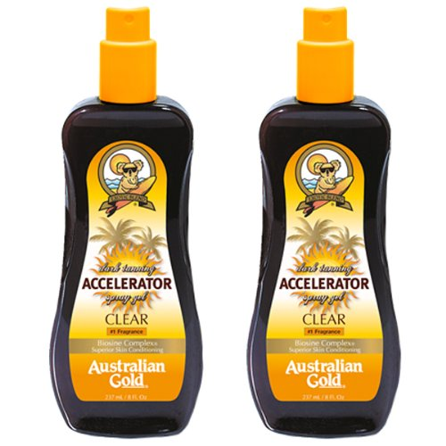 Australian Gold Dark Tanning Accelerator Spray Gel