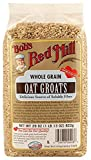 Bob's Red Mill - Whole Grain Oat Groats, Delicious Source of Fiber, 29 Ounces