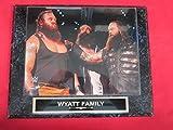 Wyatt Family WWE Collector Plaque w/8x10