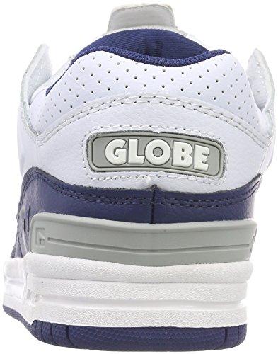Bianco white Globe Uomo 0 Scarpe Skateboard Blue Fusion Da 4qqxRYUX