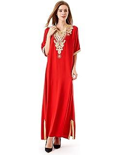 c25051e08597 musulmana Abito da Sposa Caftan Kaftan jalabiya donne musulmane  Abbigliamento Islam lunga gonna abito