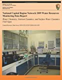National Capital Region Network 2009 Water Resources Monitoring Data Report: Water Chemistry, Nutrient Dynamics, and Surface Water Dynamics Vital Signs, National Park National Park Service, 1492847909