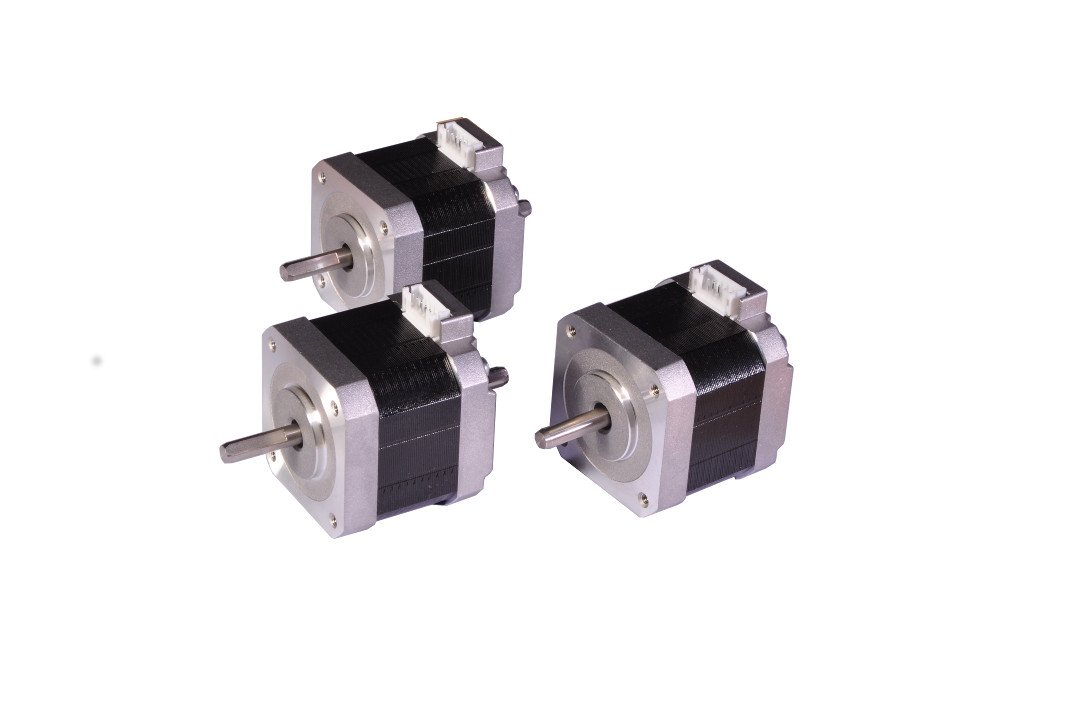 Stepper Motor 3x Nema17, Unipolar, Dual Shaft, 40mm 34.1Ncm 2A 6-Lead Hobby CNC 3D Printer