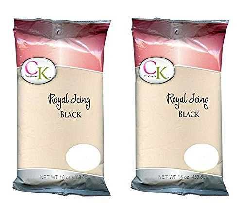 - CK Products Royal Icing Mix 1 Pound - Pack of 2 (Black)
