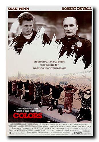 Mile High Media Colors Movie Poster 24x36 Inch Wall Art Portrait Print - Sean Penn Robert Duvall