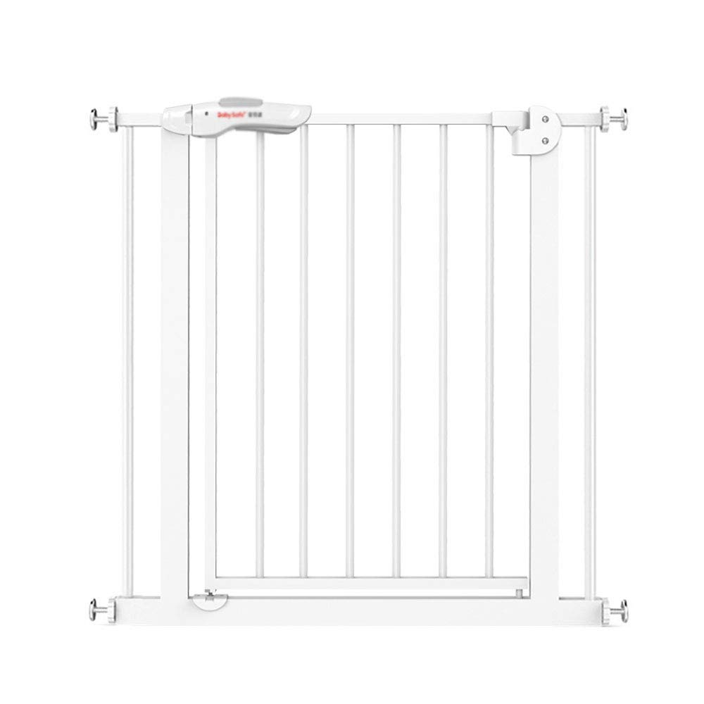 ZQZ Safety Fence,Baby Stair Door Fence Pet Isolation Fence Child Safety Gate Dog Fence Fence Railing (#) (Size : B)