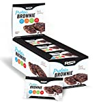RSP Protein Brownie - Premium Soft Baked Brownie with 16g of Protein, Delicious On-The-Go Healthy Snack - High Protein & Gluten Free, Classic Fudge (12 Count)