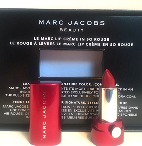 Marc Jacobs Beauty Le Marc Lip Cr me – Deluxe Travel Size -So Rouge 240