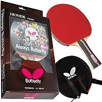 Butterfly 302 Shakehand Raqueta para Tenis de Mesa