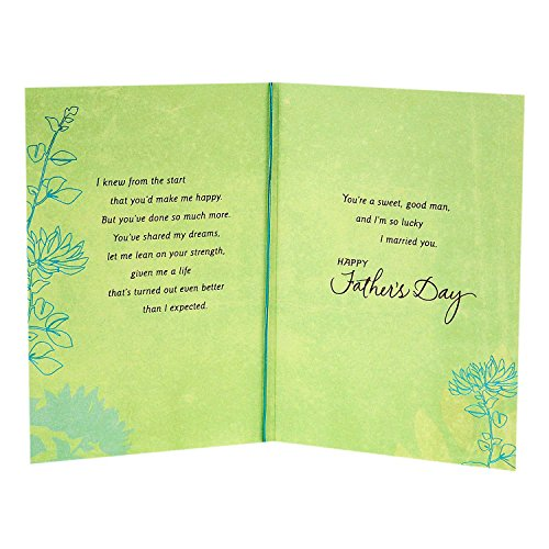 Hallmark Father's Day Greeting Card for Husband (Sweet and Good Man) Photo #4