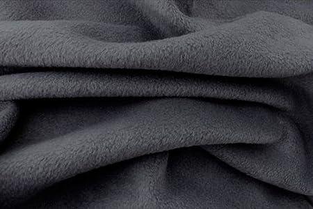 Dark Grey Soft Anti Polar Fleece Fabric Top Quality Soft Fleece