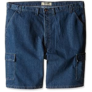 Wrangler Authentics Men's Big & Tall Classic Cargo Twill Short
