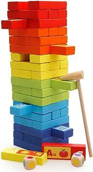 Pilas de bloques de música, juegos de mesa de rompecabezas, bloques de torre, juegos de apilamiento, bloques de construcción, juguetes: Amazon.es: Bricolaje y herramientas
