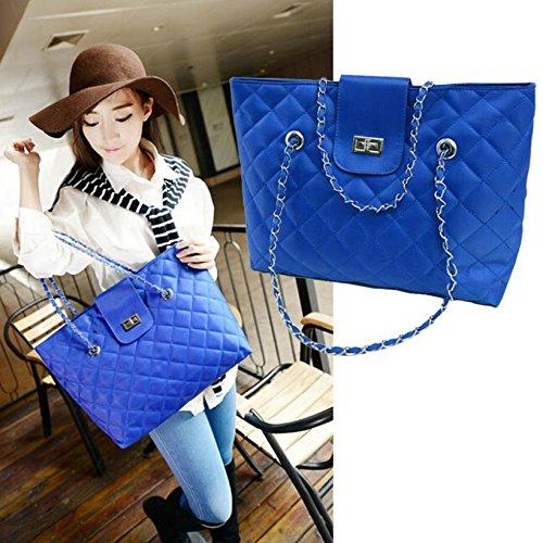 ArMordy(TM) Brand Fashion Woman Message Bags Ladies luxury Artificial Leather Handbag Chain Shoulder Bag Plaid Women Crossbody Bag