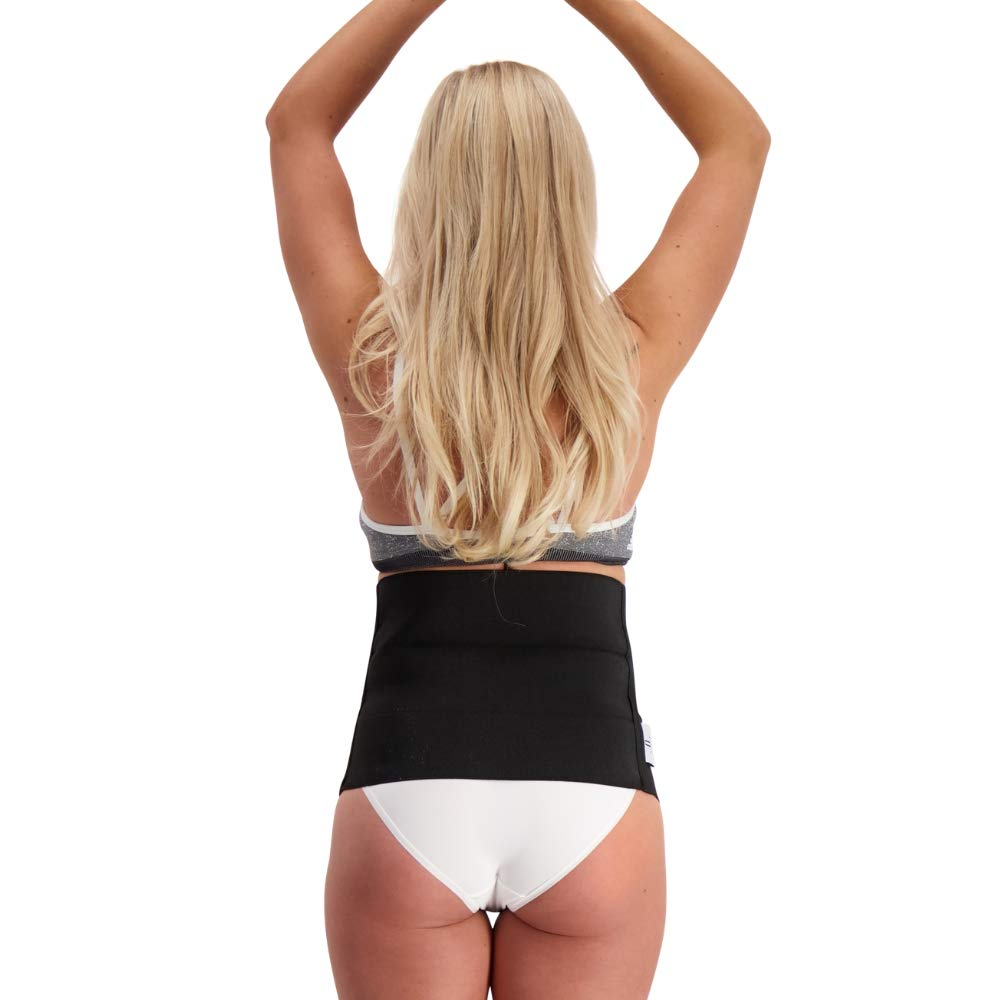 Postpartum Belly Band with Adjustable Dual Compression System Lola/&Lykke Core Restore Support Band Recommended by Physiotherapists Postpartum Support Diastasis Recti Belt