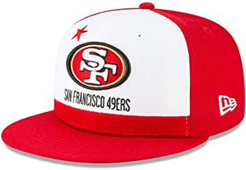 New Era San Francisco 49ers 9FIFTY NFL Official 2019 Draft Snapback Hat