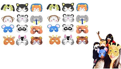 Animal Face Masks For Kids - 8