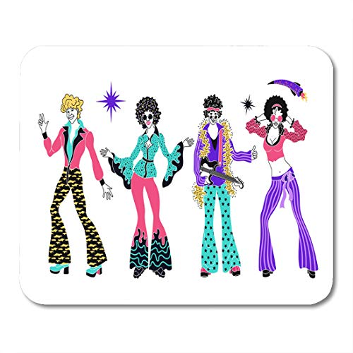 Emvency Mouse Pads Soul Party Time Dancers of