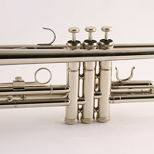 Amazon.com: Conductor Model 200N Bb Silver Nickel Student Trumpet ...