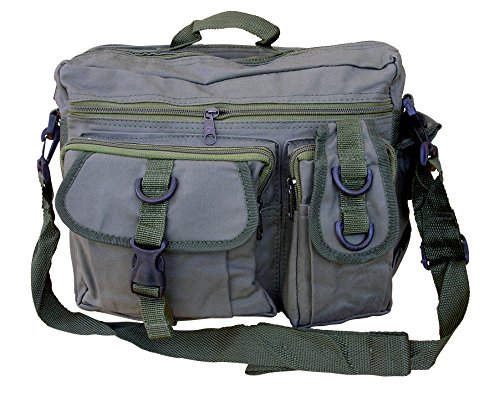 Mens Travel Combat Military Messenger Satchel Army Green Shoulder Bag vqSvr