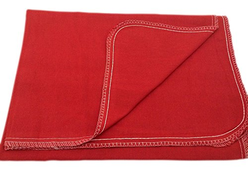 Auto Fender Cover & Seat Protector, Eco-friendly 100% Soft Natural Cotton, protects auto surfaces, car interiors, seats, ideal for mechanic shop, garages, body shops & DIY projects. Red, 4-Pieces