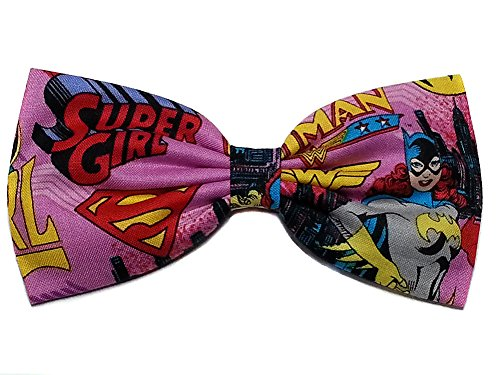 Super Heroes Hair Bows-sci Fi, Horror, Marvel (Superheroines/Batgirl, Alligator Clip) ()