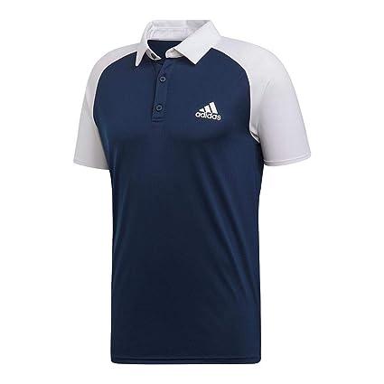 3eedcc340cab2 Amazon.com : adidas Club Color Block Tennis Polo Shirt : Sports ...